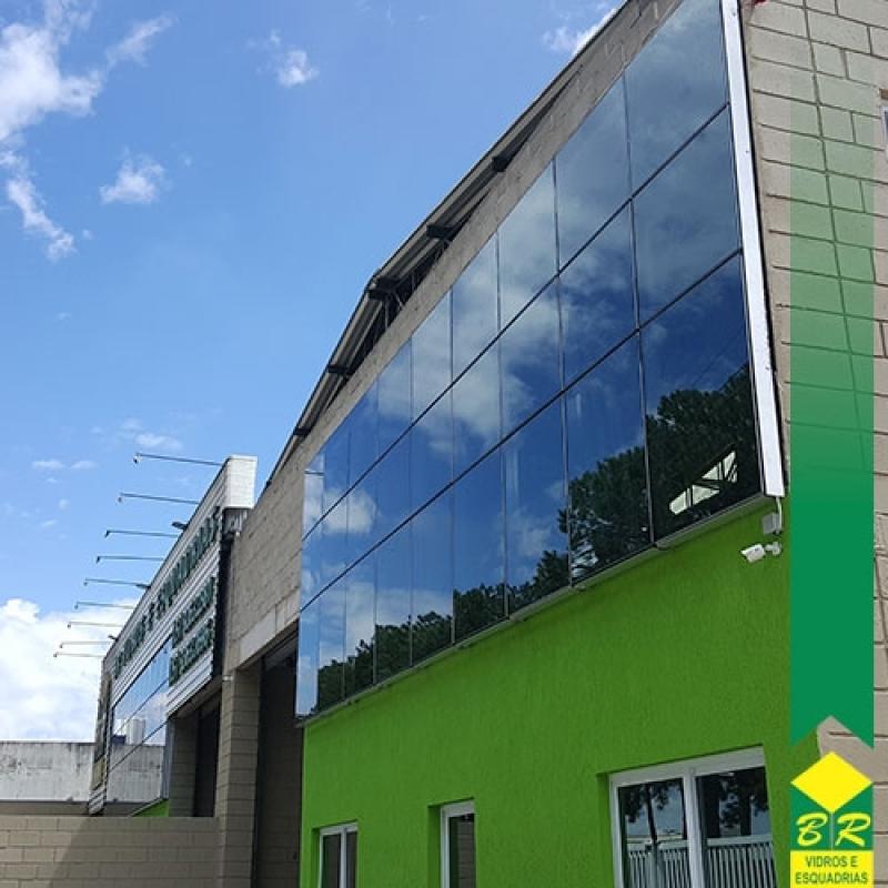 Comprar Fachada Glazing Vila Élvio - Fachada Vidro Espelhado
