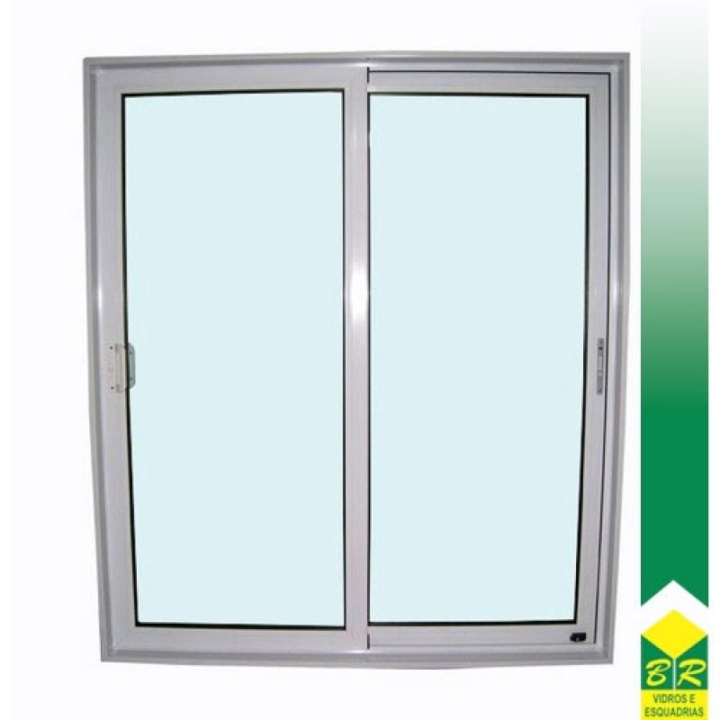 Esquadria Alumínio Anodizado Conchas - Esquadria Alumínio Porta