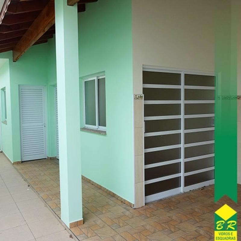 Esquadria Alumínio Porta Preço Jardim Santa Rosália - Esquadria de Alumínio para Janelas