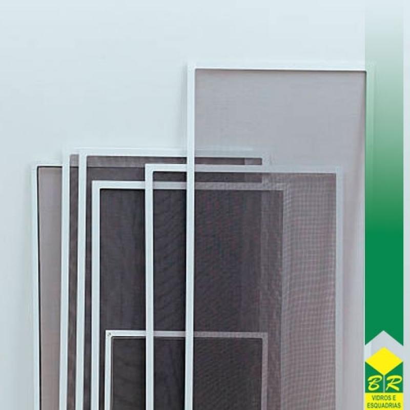 Esquadria de Alumínio para Tela Mosquiteira Itu - Esquadria Alumínio Anodizado