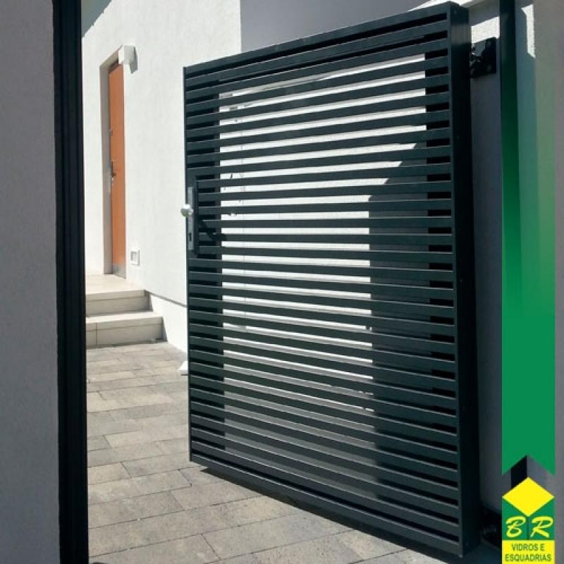 Esquadria de Alumínio Portões Araçoiaba da Serra - Esquadria de Alumínio Lambril