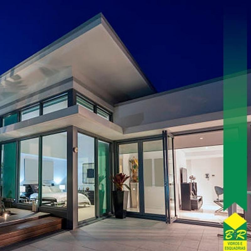 Fachada Residencial Boituva - Fachada de Esquadria de Alumínio
