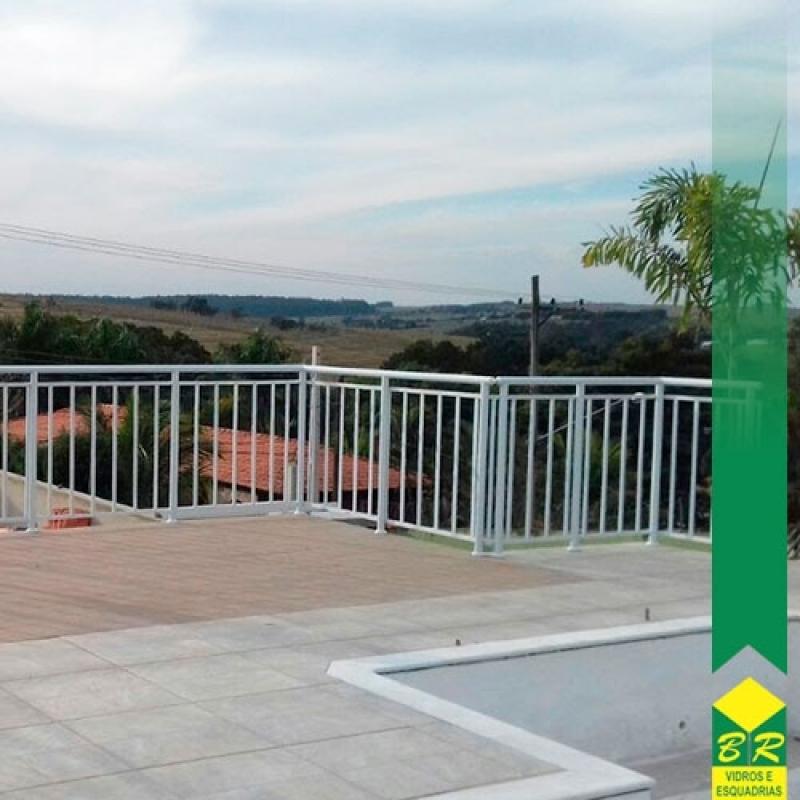Guarda Corpo para área Externa Parque Campolim - Guarda Corpo para Laje