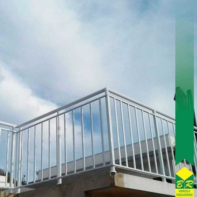 Guarda Corpo para Deck Avaré - Guarda Corpo para Escada