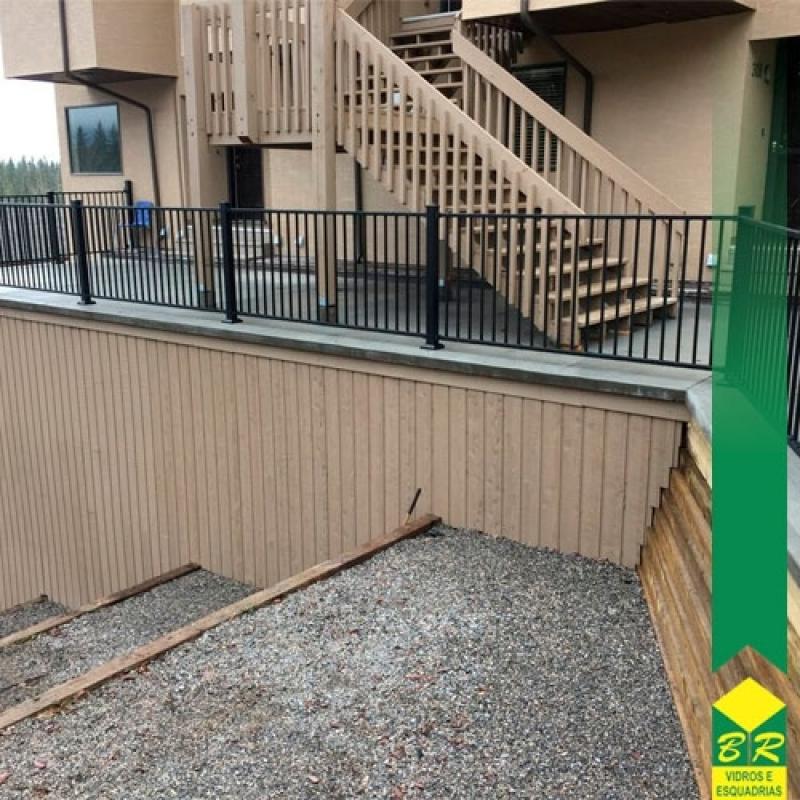 Guarda Corpo para Laje Jardim Sandra - Guarda Corpo para Escada