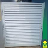 esquadria alumínio porta Cerrado