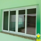 esquadria de alumínio para janelas Capela do Alto