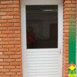esquadrias alumínio porta Além Ponte