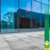fachada vidro espelhado