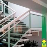 guarda corpo em escada orçamento Vila Jardini
