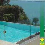 guarda corpo para piscina Itapetininga