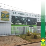 instalação de fachada glazing Jardim Sandra