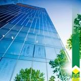 instalação de fachada pele de vidro Centro