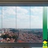 onde tem esquadria alumínio fechamento de varandas Laranjal Paulista