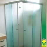 orçamento de vidro temperado para box de banheiro Além Linha