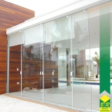 orçamento de vidro temperado para porta Conchas