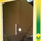 orçamento de vidro temperado para portas e janelas Jardim Santa Rosália