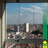 orçamento de vidro temperado para sacada Vila Jardini
