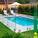 quanto custa guarda corpo para piscina Sorocaba