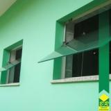 venda de vidro temperado janela Alumínio