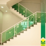 venda de vidro temperado para escada Alambari