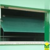 venda de vidro temperado para janela Alumínio