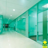 vidro temperado kit janela Parque Campolim