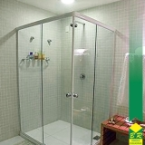 vidro temperado para box de banheiro Itaí