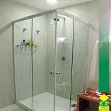 vidro temperado para box de banheiro Jardim Santa Rosália