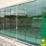 vidro temperado para porta valor Tietê