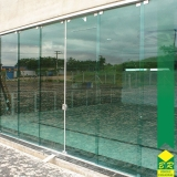 vidro temperado para porta valor Iperó