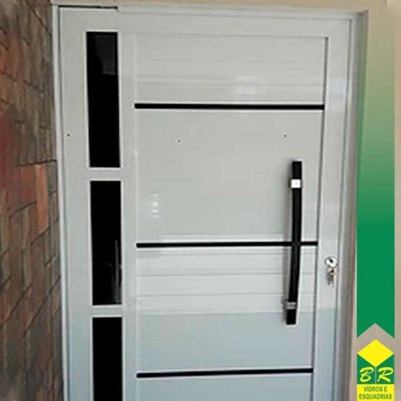 Valor de Esquadria de Alumínio Porta Pivotante Vila Jardini - Esquadria de Alumínio Integrada