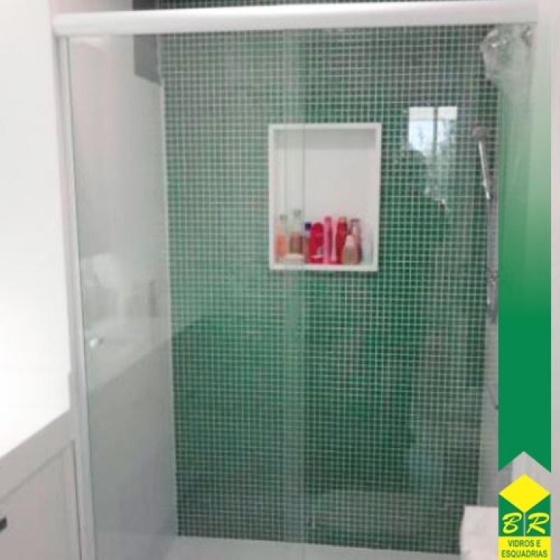 Venda de Vidro Temperado para Box de Banheiro Votorantim - Vidro Temperado Kit Sacada