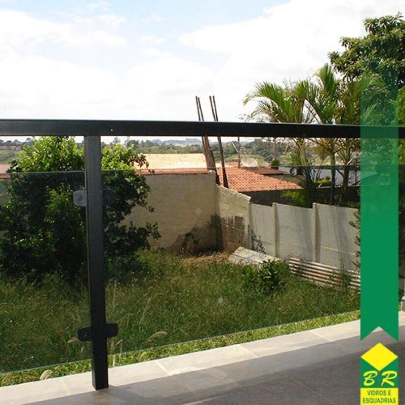 Venda de Vidro Temperado para Corrimão Araçoiaba da Serra - Vidro Temperado para Box de Banheiro