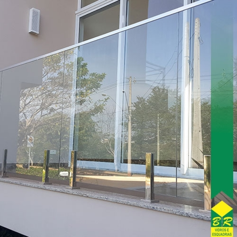 Vidro Temperado para Corrimão Laranjal Paulista - Vidro Temperado para Box de Banheiro
