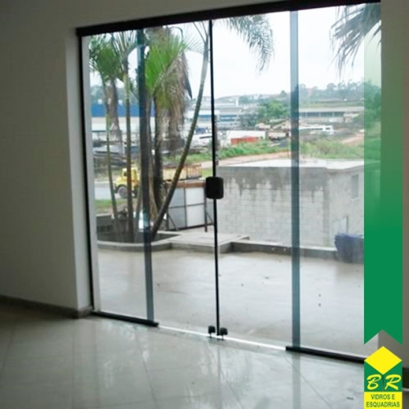 Vidros Temperados para Porta Jardim Santa Rosália - Vidro Temperado para Escada
